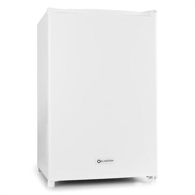 KLARSTEIN Réfrigérateur 120l + compartiment freezer 12l 67w classe A+ - blanc