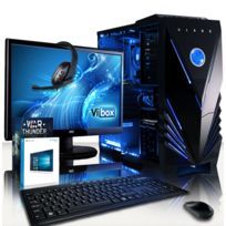 VIBOX - Processeur CPU Six 6-Core AMD FX - Carte Graphique Nvidia GTX 1050 Ti 4 Go - 16 Go RAM - Disque Dur 1 To - Windows 10