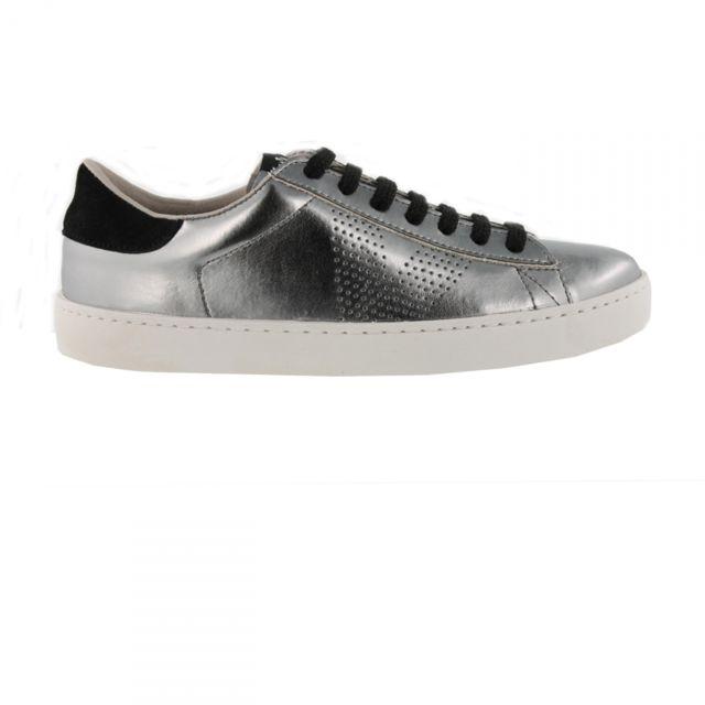 Chaussures Deportivo Metalizado Antracita W