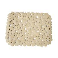 Msv - Fond d'évier galets en Pvc beige