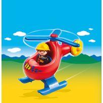 Pompier avec hélicoptère - 6789