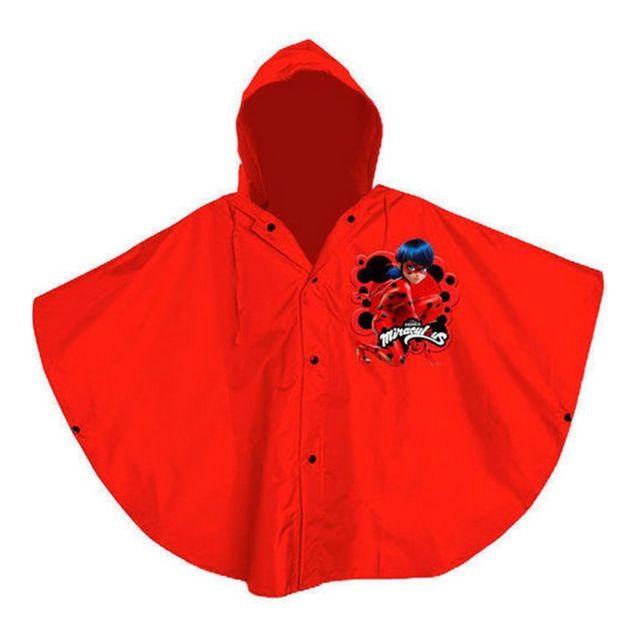acheter populaire 3a153 5bc23 Marque Generique - Poncho de pluie Disney Miraculous Ladybug ...