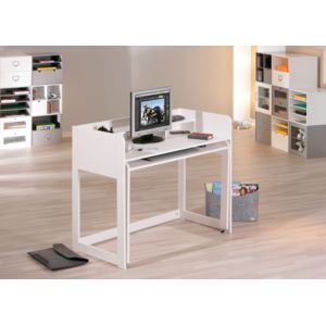 kalitat bureau rallonge pin massif blanc pas cher achat vente bureau rueducommerce. Black Bedroom Furniture Sets. Home Design Ideas