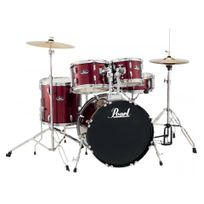 Pearl - Batterie Roadshow Fusion 20'' 5 fûts - Red Wine