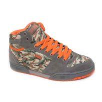 Globe - Sneakers Homme Skate shoes collector Hi Top Mojo Hi Smoke Camo