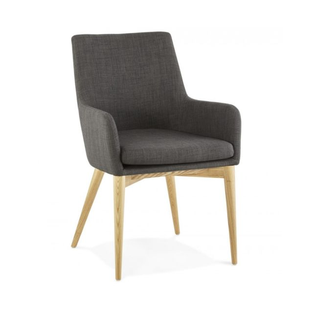 Kokoon Design Fauteuil design Gagu Dark Grey 55x62x87 cm