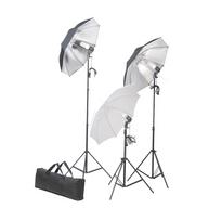 Vidaxl - Kit studio 3 lampes daylight & accessoires