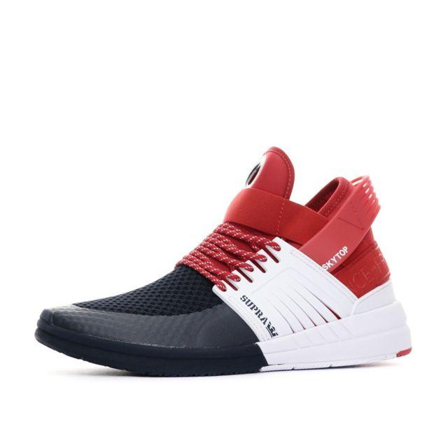 Supra Sneakers tricolore homme France Multicouleur 47