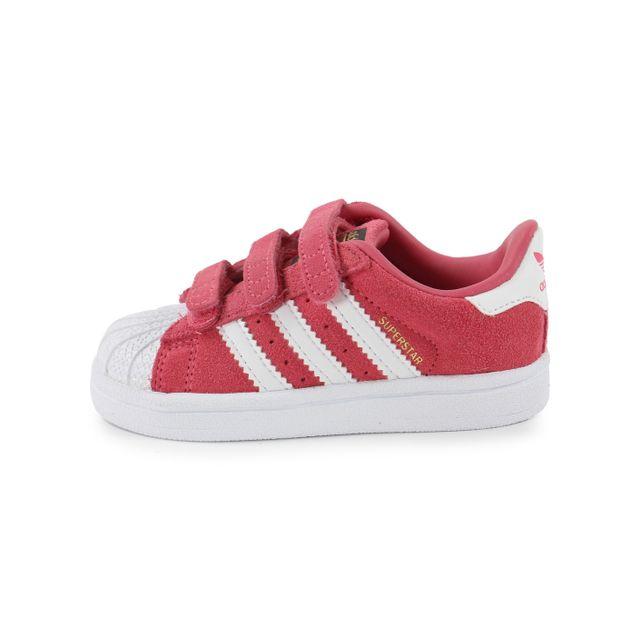 5ab81d279fe7f Adidas originals - Superstar Foundation Bébé Rose - pas cher Achat ...