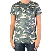 Ryujee - Tee Shirt Tylian Camouflet Vert