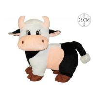 Sans Marque - Peluche Vache 28cm