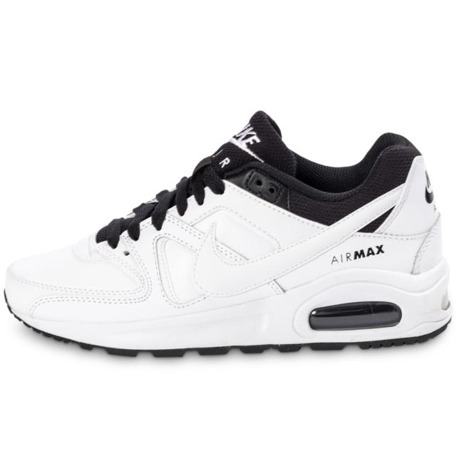 Nike Air Max Command Noire Flex Blanche Et Noire Command Baskets pas cher  cec62e 5f6decff5c25