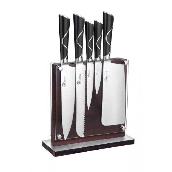 Pradel Excellence Bloc 5 couteaux forgés design unique