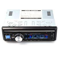 Auto-hightech - Autoradio Audio Stéréo de Voiture 12 V avec Fm Bluetooth V2.0, Lecteur Usb, carte Sd, Micro Aux, Mains-libres, Télécommande