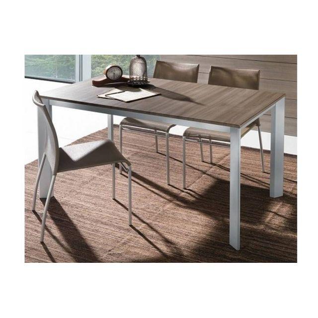 Polymère Repas Seggiola Tecno En 80 X Cm 130 La Table Extensible NkXnP80wO