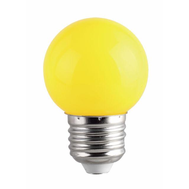 Marque Generique Fox Light Ampoule Led 1w E27 Couleur Jaune