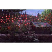 MARQUE GENERIQUE - Guirlande solaire rideau 80 leds