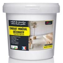 Arcane Industries - Enduit décoratif mural et sol rénovation chambre cuisine salle de bain - Couleur : cuivre - Contenance : Kit 10kg - 6.5m² pour 2 couches