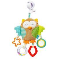 Babysun Nursery - Babysun Sleeping Forest Doudou d'activités pince clip hibou