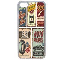 Lapinette - Coque Rigide Plaque Vintage Pour Apple Iphone 5c
