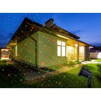 No Name - Laser professionnel extérieur/extérieur - Ciel étoilé 5000 lucioles animées ou fixes - Pour façades, soirées et animations
