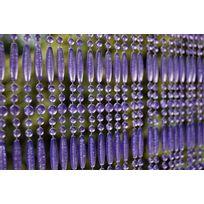 MARQUE GENERIQUE - Rideau de porte en perles violettes Fréjus