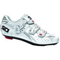 Sidi - Genius 5 Fit Carbon Blanche Femme Chaussures Vélo