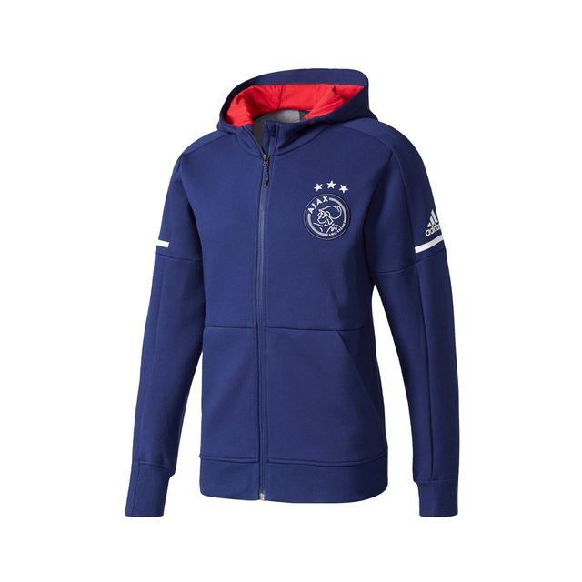 Adidas performance - Veste Anthem Ajax Amsterdam Bleu - pas cher ... 800ea1d515b
