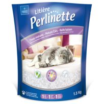 Demavic - Litière Perlinette Sante pour Chat Mature - 1,5Kg