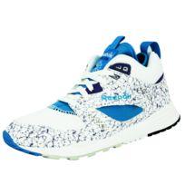 Reebok Classic - Ventilator Mid Boot Aog Chaussures Sneakers Mode Homme Blanc Bleu Hexalite