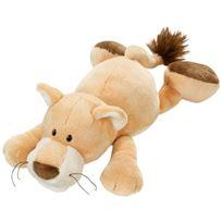 Nici - peluche-lion CouchÉ - 30 Cm Avec Capuche-wild Friends