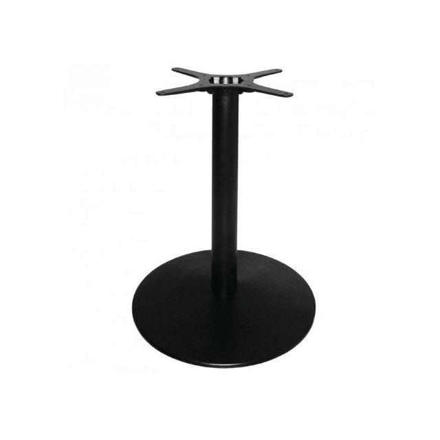 Materiel Chr Pro Pied de table en fonte Bolero pour plateaux ronds ou carrés Werzalit
