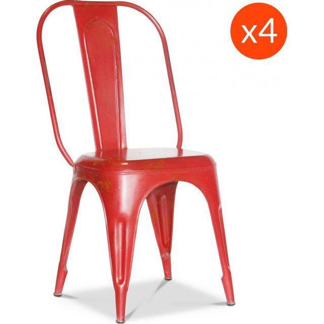 privatefloor chaise tolix vintage xavier pauchard style. Black Bedroom Furniture Sets. Home Design Ideas