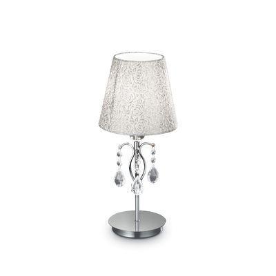 Boutica-design Lampe à poser Pantheon Argent 1x40W - Ideal Lux - 088150