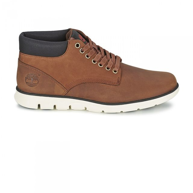 5079ae8c641 Timberland - Chaussures Bradstreet Chukka Leather Brown - pas cher Achat    Vente Baskets homme - RueDuCommerce