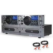 Gemini - Cdx-2250i Double Lecteur Cd Mp3 / Cd Audio / Usb + Câbles