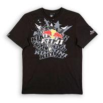 Kini Red Bull - Fade - T-shirt - noir