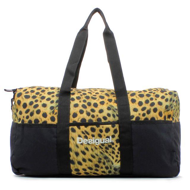 soldes desigual sac de sport life bag bols noir pas cher achat vente sacs de sport. Black Bedroom Furniture Sets. Home Design Ideas