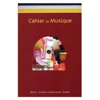 Id Music - Cahier de musique 12 portées