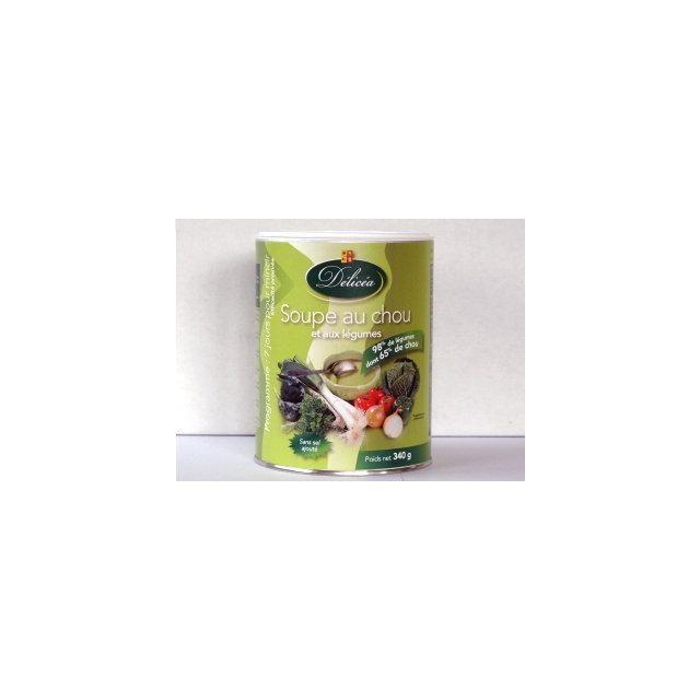 Delicea Soupe Minceur Saveur Chou Et Legumes Cure 7 Jours Lot