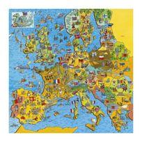 Gibsons Games - Puzzle 200 pièces - Carte de l'Europe