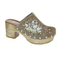 Alpe - Chaussures Femme Sabot modele 36451167