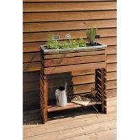 jardiniere sur pied achat jardiniere sur pied pas cher rue du commerce. Black Bedroom Furniture Sets. Home Design Ideas