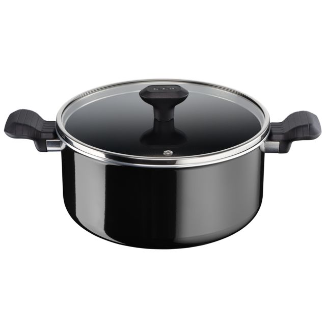 TEFAL SO INTENSIVE GV5 - Faitout 24 cm - Noir - D5034602