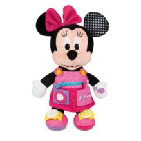 CLEMENTONI - Peluche BABY Minnie - Habille-Moi ! - 52281.1