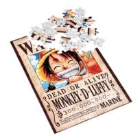 Obyz - Puzzle 100 pièces One Piece : Monkey D Luffy Dead or Alife