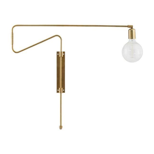 Swing L70cm Orientable Applique Doré Laiton Murale ynm0vP8ONw