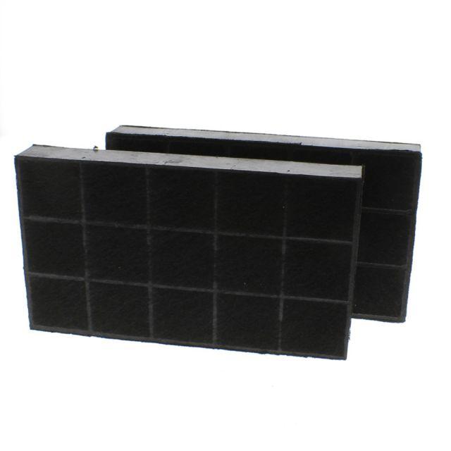 Brandt Filtre charbon rectangulaire 133 x 235 x 30mm pour Hotte, X2