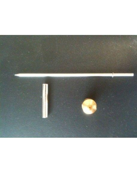 Builder - Buse et Pointeau de 1mm pour pistolet métal