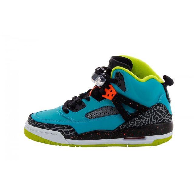 2929eb8e2e5c Nike - Basket Jordan Spizike Junior - Ref. 317321-317 - pas cher Achat /  Vente Baskets enfant - RueDuCommerce